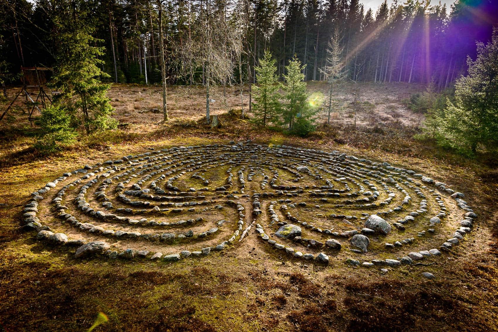 Labyrinten i Ornunga