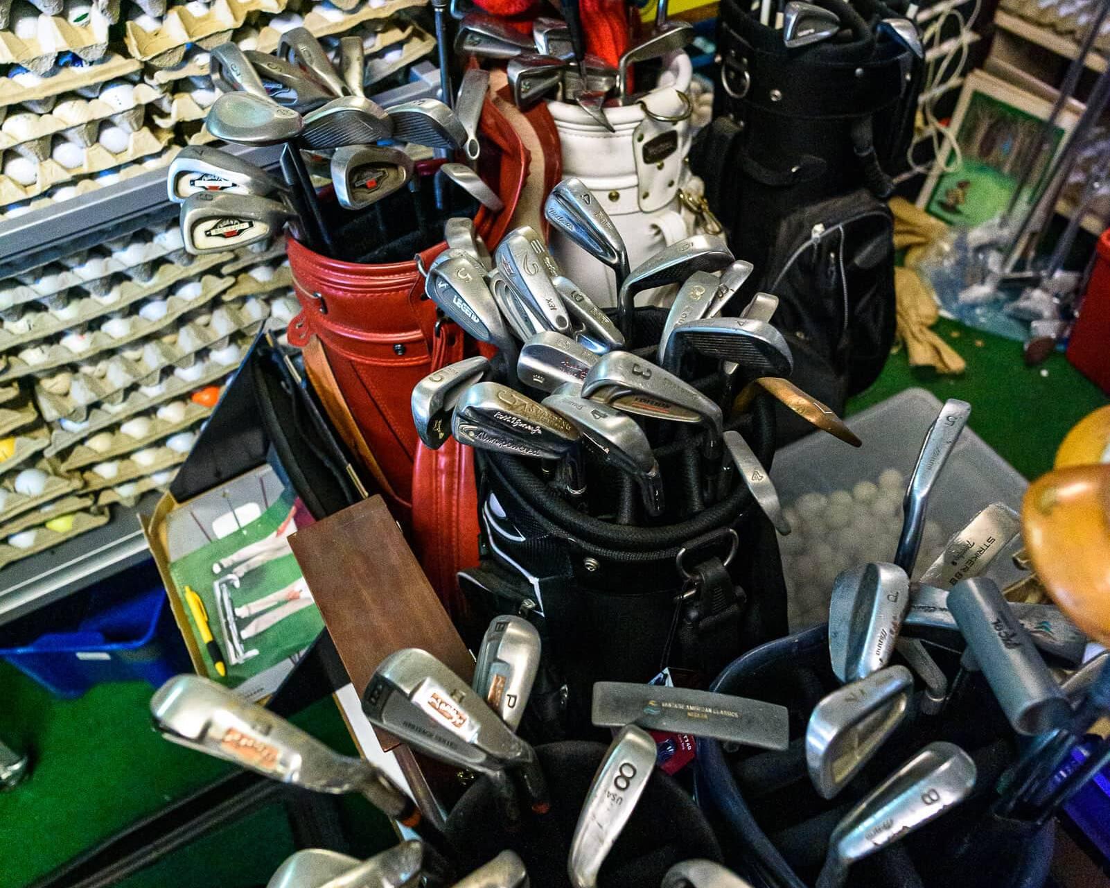 Tonkins Golfbollsmuseum 5