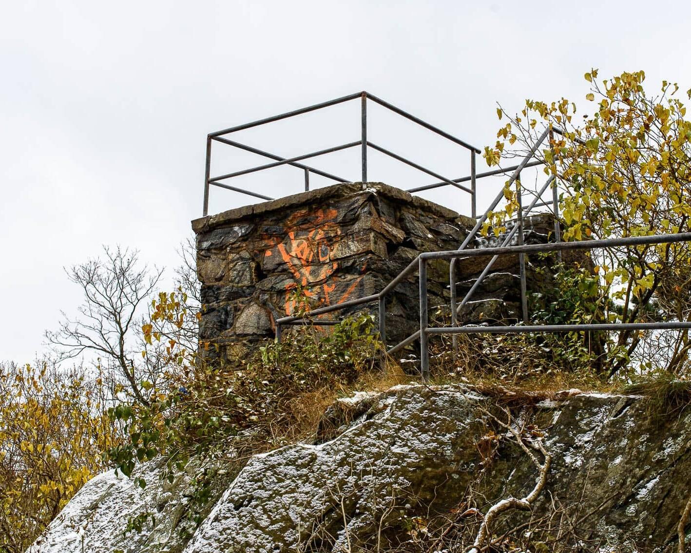 Utsiktstornet i Fogelbergsparken.