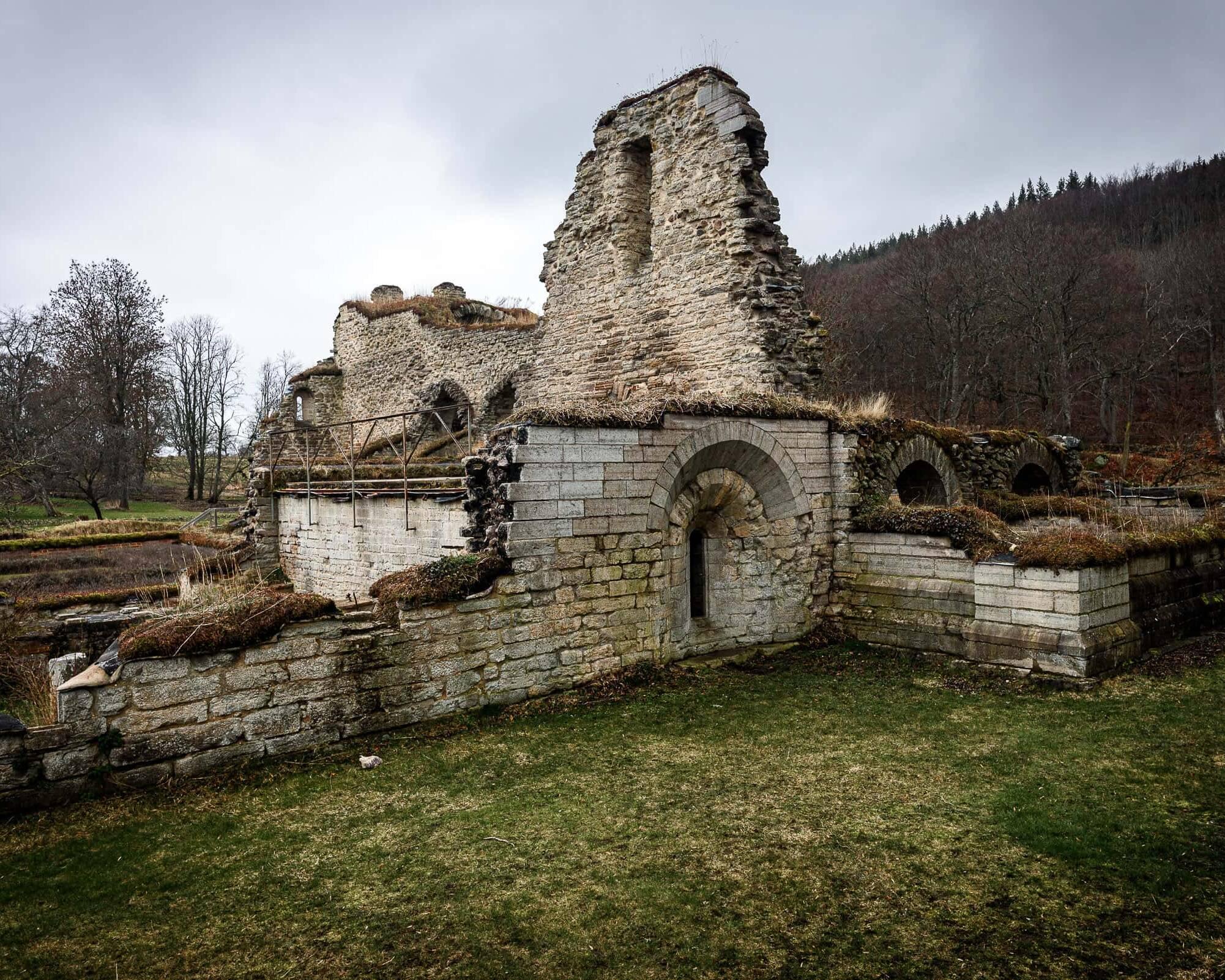Alvastra Klosterruin i Ödeshög.