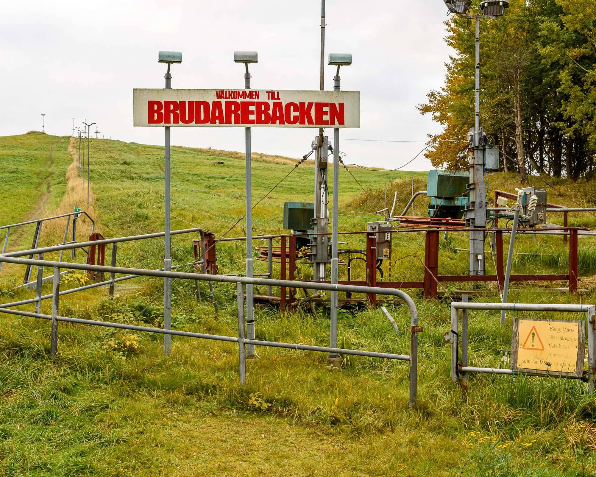 Liftsystem, Brudarebacken i Brudaremossen.