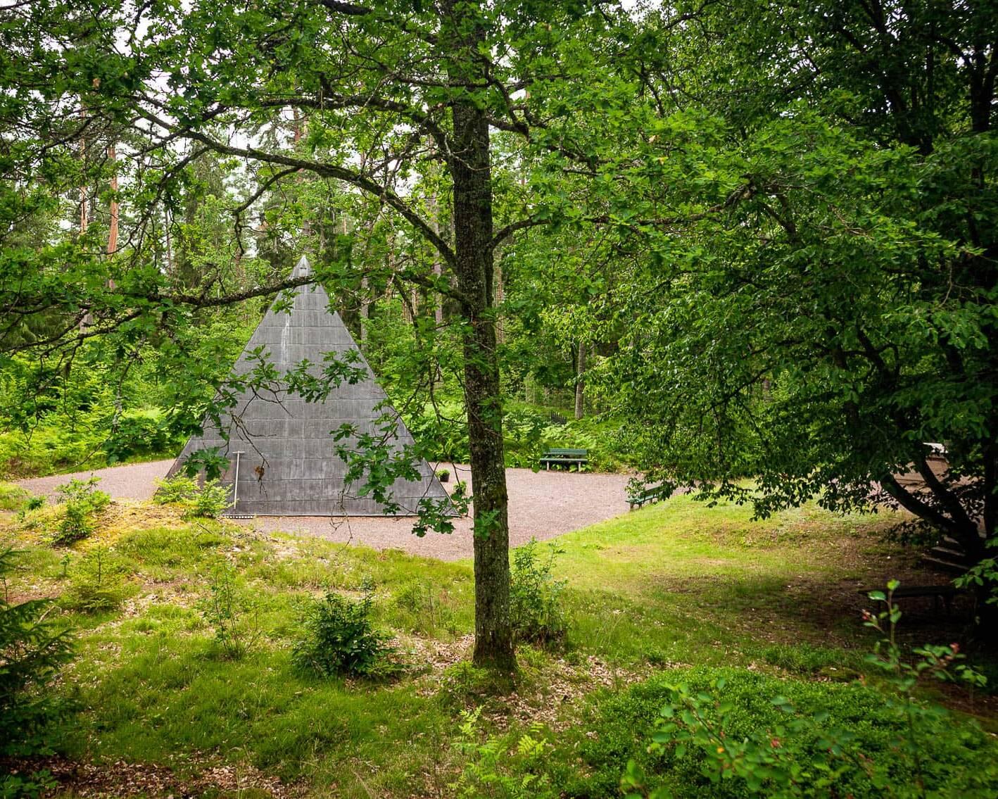 Stjärneborgs Pyramid på Stjärneborgs Museer.