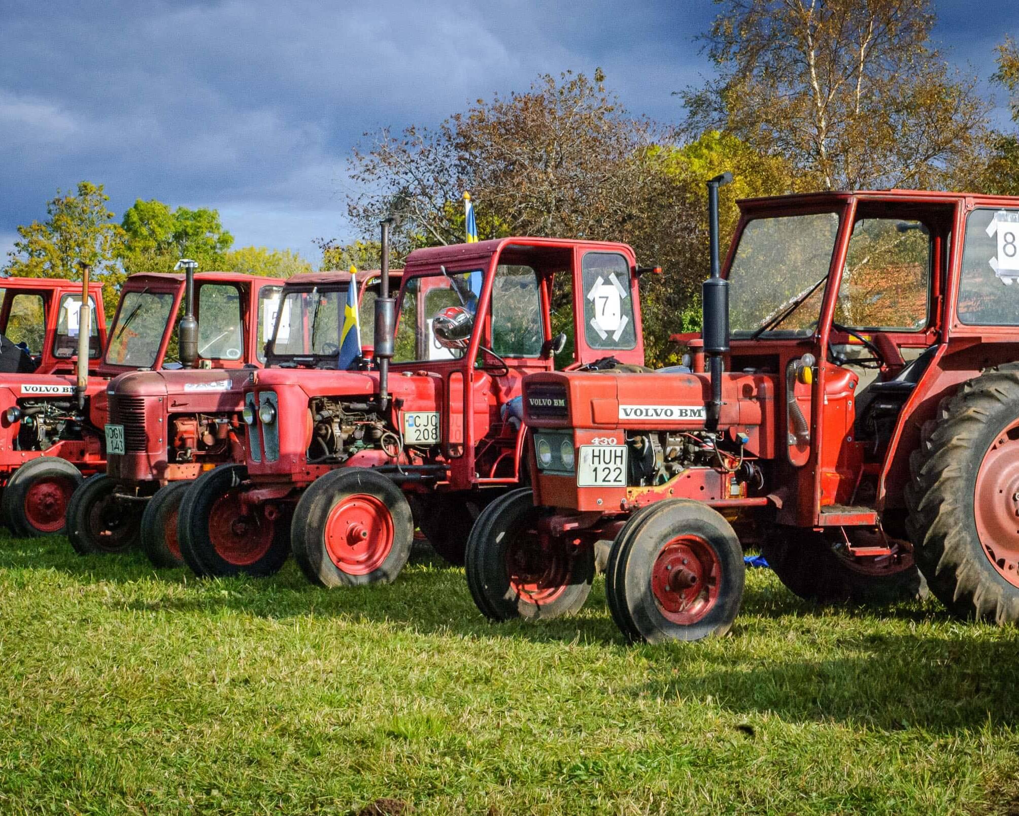 Vänta Traktor Race