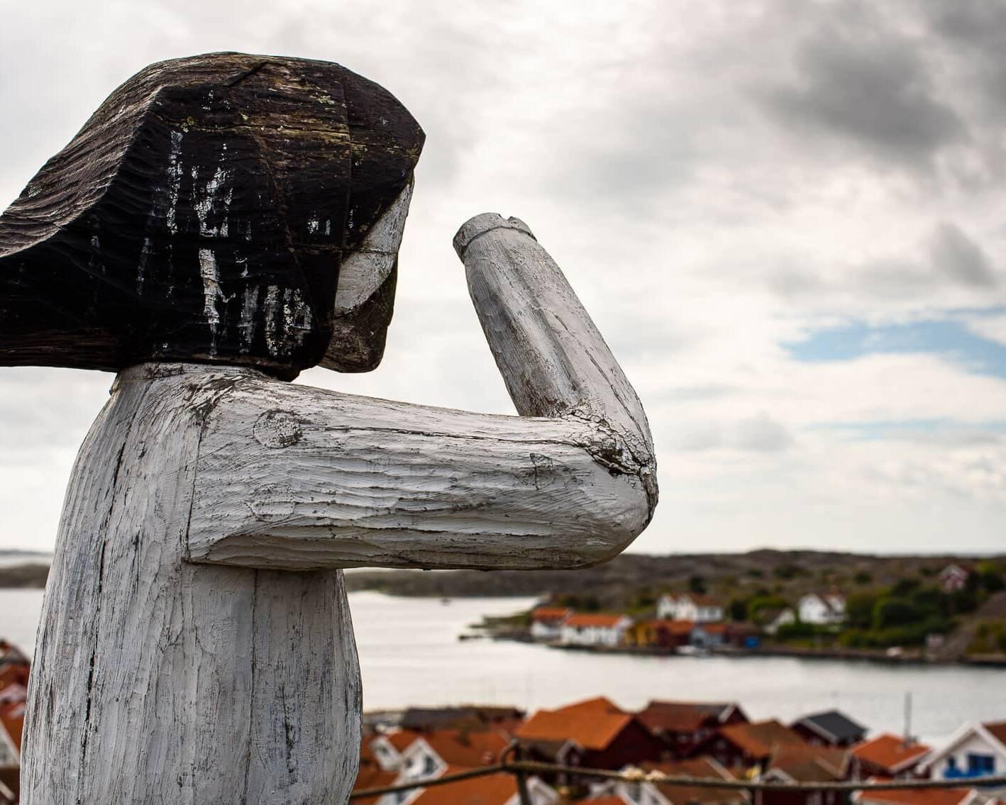 Fiskarhustrun i Mollösund