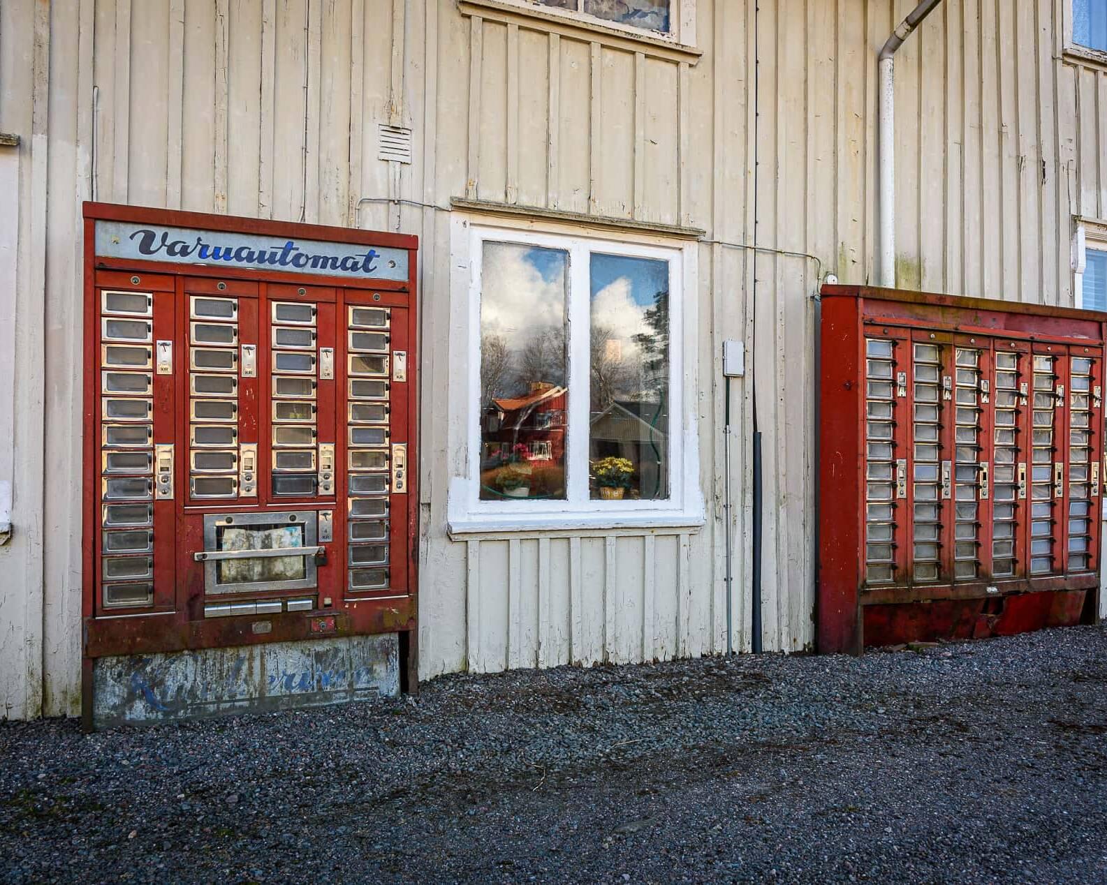 Varuautomaterna i Järbo