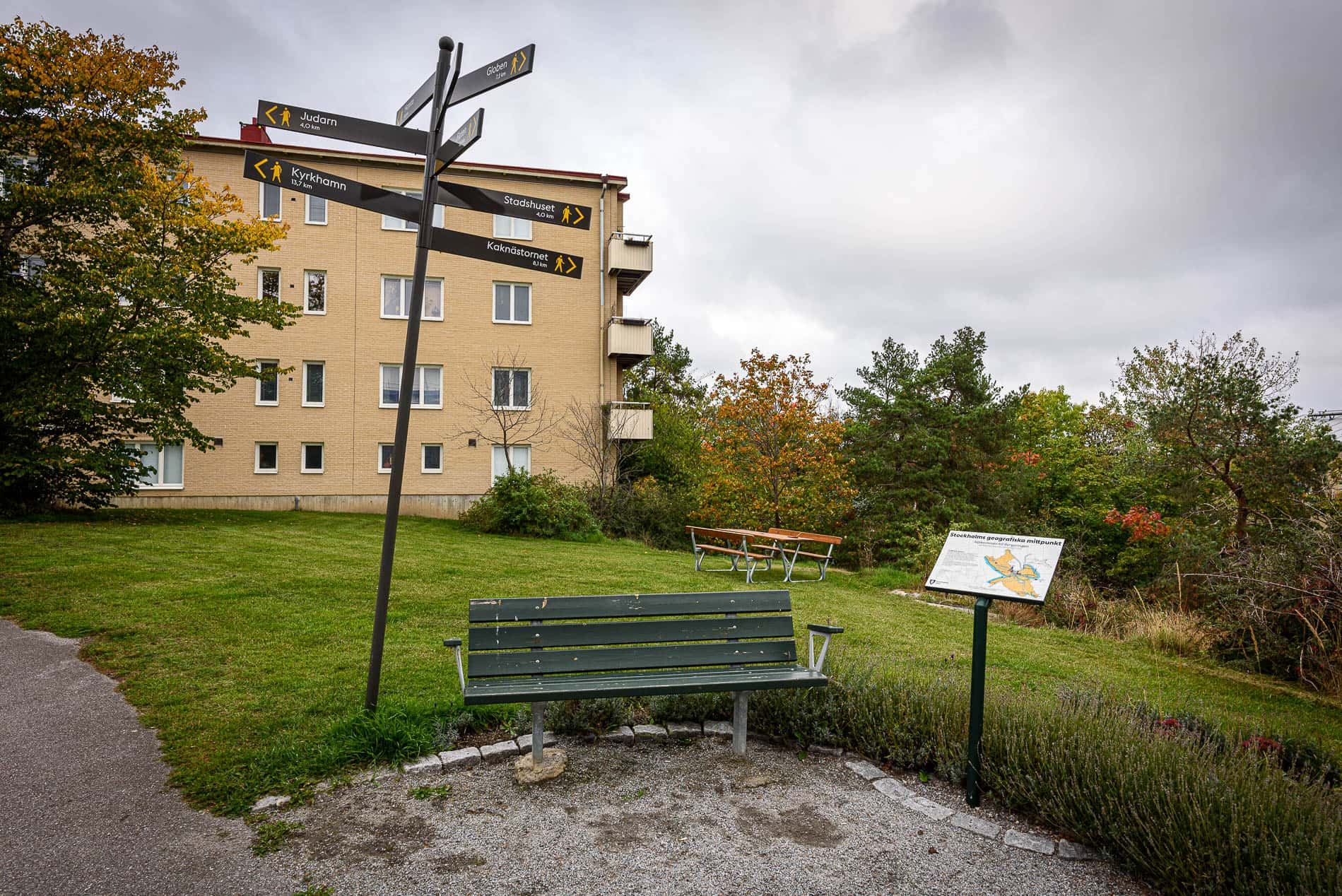 Stockholms Geografiska Mittpunkt