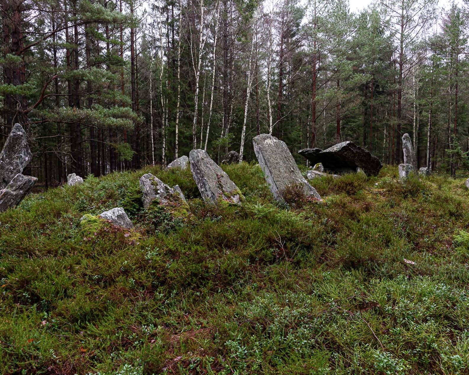 Megalitgraven Torebo Altare på Orust