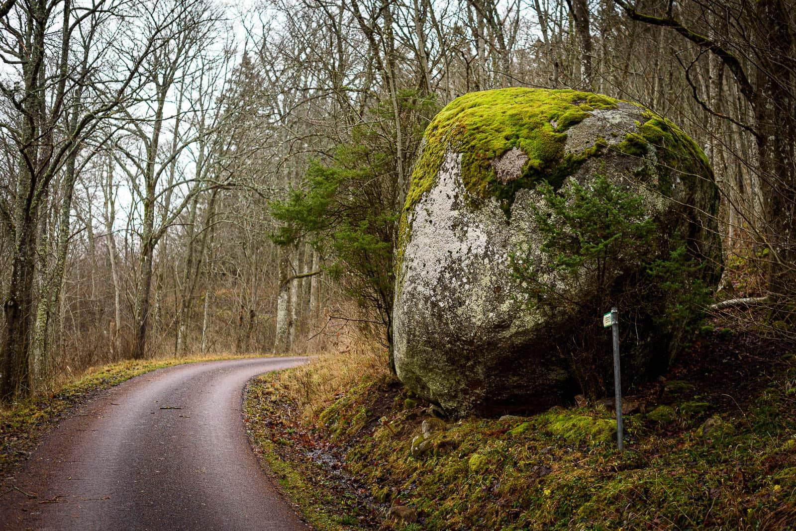 Pers Sten på Omberg