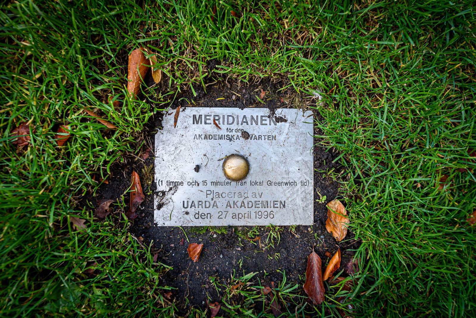 Meridianen för den akademiska kvarten