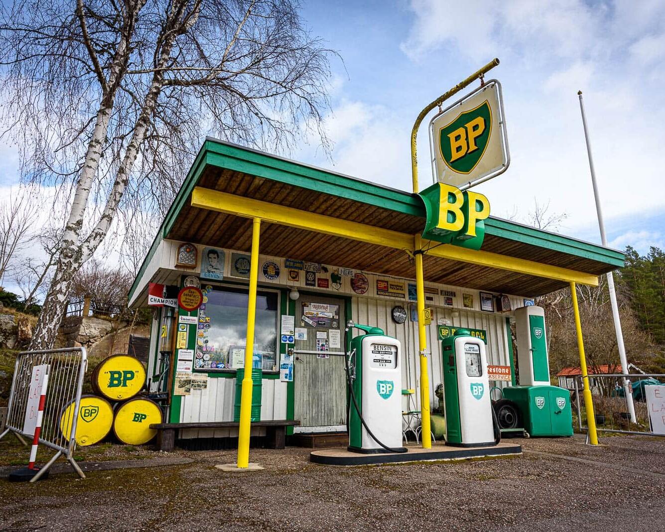 BP Nostalgimack i Björkfors