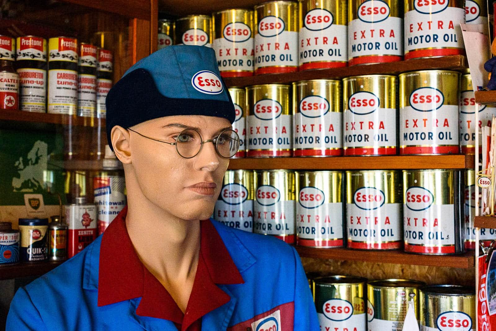 Esso Museum - Essomannen
