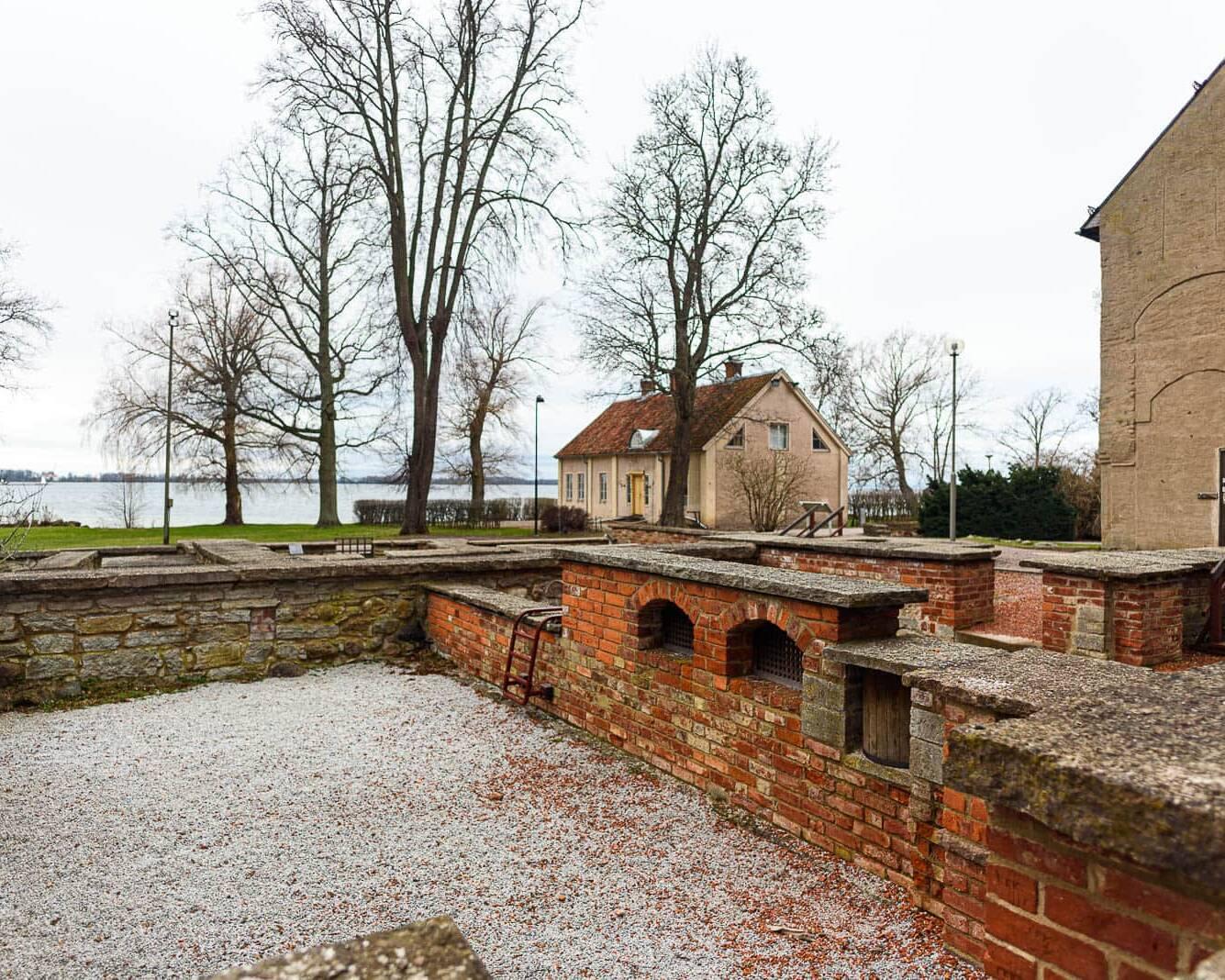 Ruinparken vid Vadstena Kloster