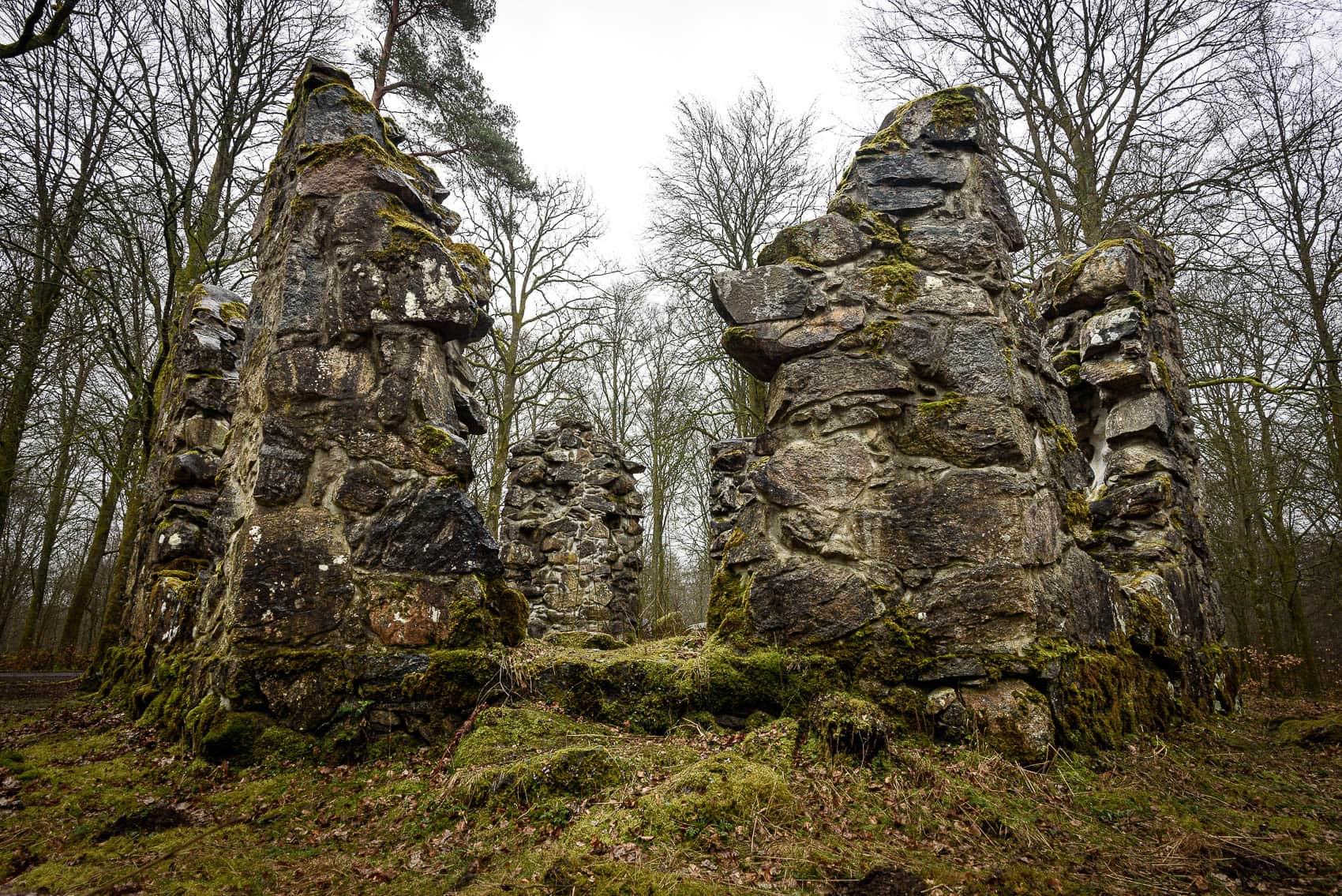 Biblioteksruinen vid Hovdala Slott