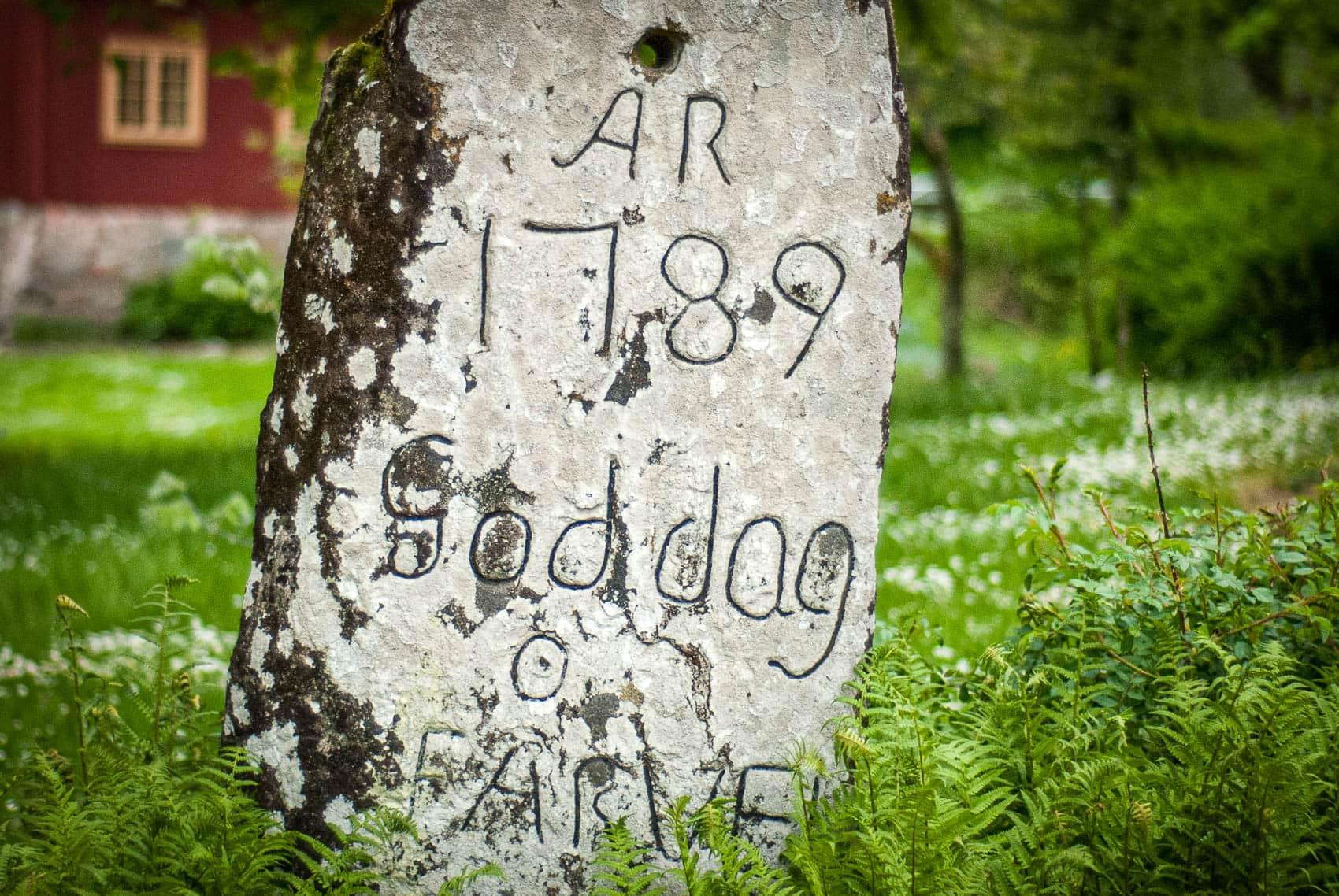 Goddagstenen på Sundsby Säteri