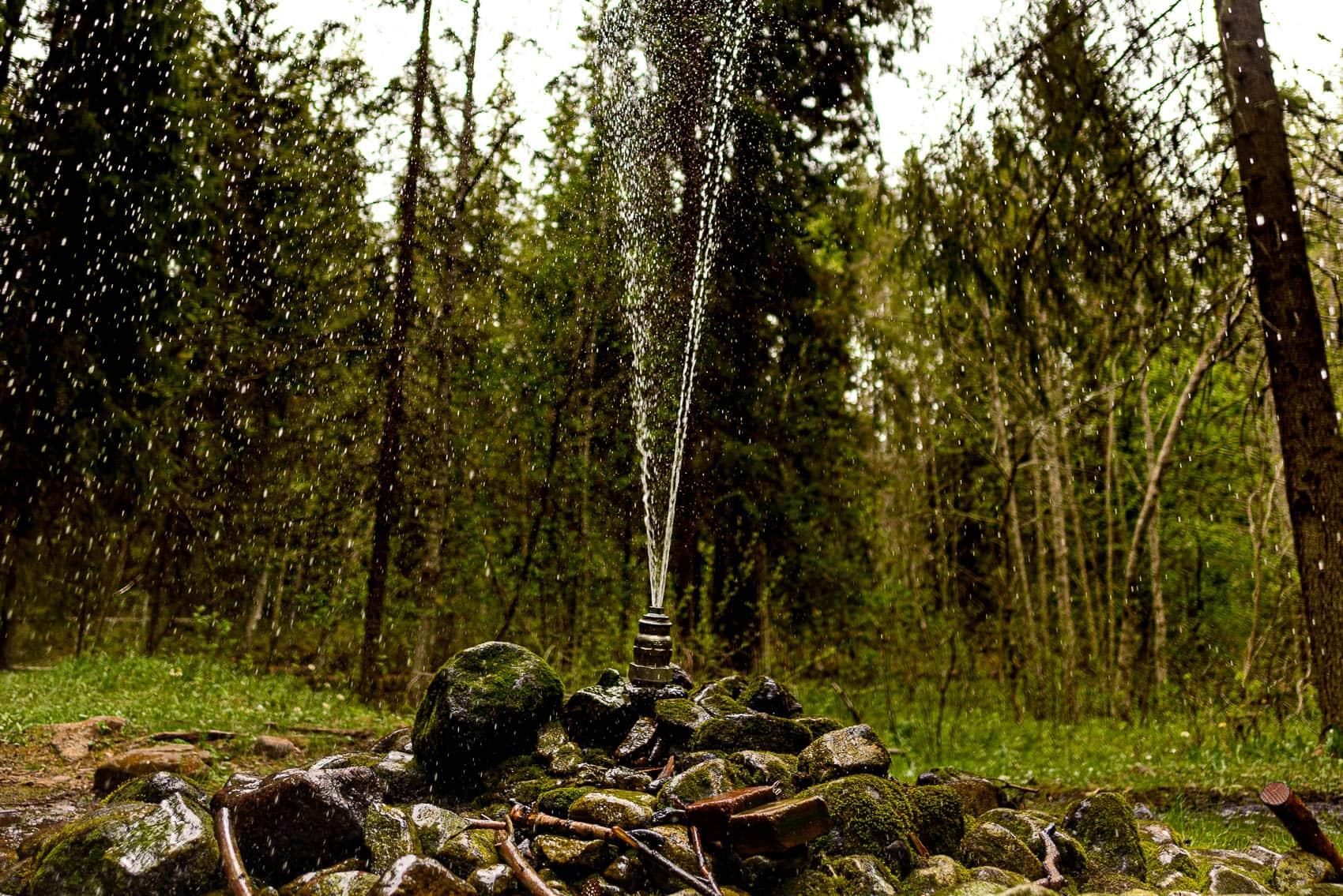 Springkällan i Rättvik